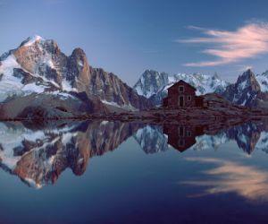 جبال الالب احد اجمل المناظر الطبيعية فى اوروبا