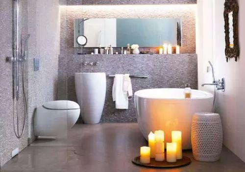 صور - افضل ديكورات حمامات صغيرة بالصور