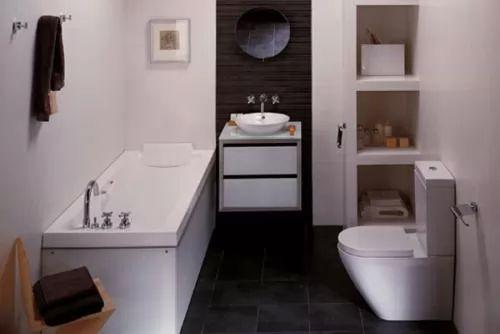 افضل ديكورات حمامات صغيرة بالصور