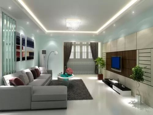contemporary colors for living room افكار لاختيار ديكورات غرف جلوس مودرن بالصور سحر الكون 21556