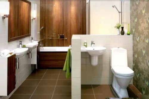 افكار وتصاميم ديكورات حمامات صغيرة بالصور سحر الكون