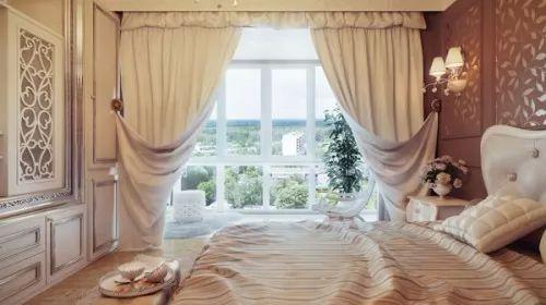 احدث موديلات ستائر غرف نوم للعرسان بالصور   سحر الكون