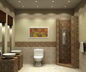 أفكار وأشكال موديلات سيراميك حمامات مودرن بالصور