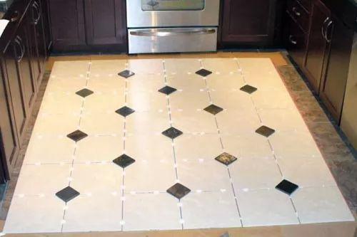 - Contemporary floor tile ideas ...