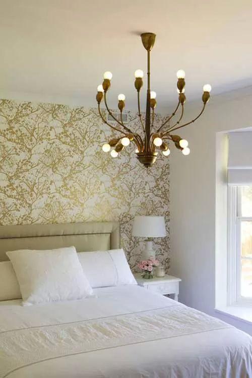 احدث ديكورات ورق حائط غرف نوم مودرن بالصور
