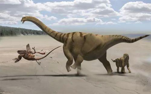 صور - كيف اصبحت الديناصورات حيوانات ضخمة جدا