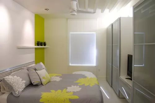 : ديكور غرف نوم مساحة صغيرة : ديكور