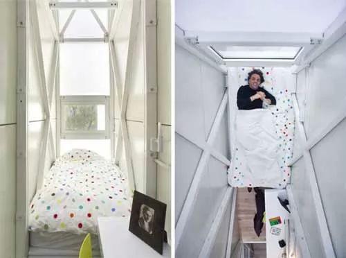 صور - اصغر منزل في العالم مساحته 1.2 متر فقط !!