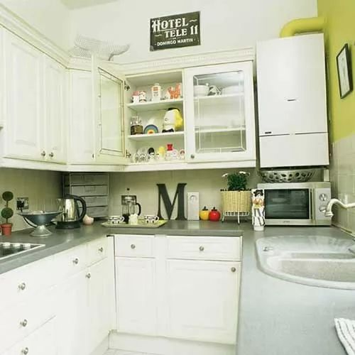 Small Apartment Decor Ideas Beautiful Small Kitchen: افكار ترتيب المطبخ صغير المساحة