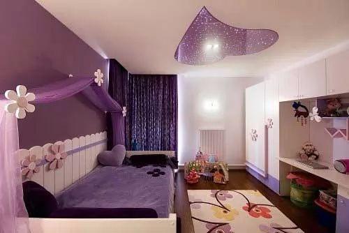 صور - ديكورات جبس اسقف غرف نوم اطفال