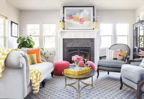 صور - احدث افكار تصميم ديكور غرفة المعيشة