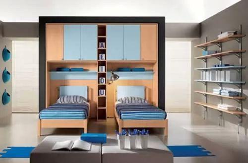 : غرف نوم اطفال سرير طابقين : اطفال