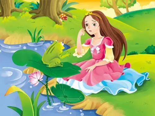 قصص قصيرة للاطفال : قصة الاميرة والضفدع