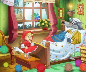قصص الاطفال - قصة الفتاة ذات الرداء الاحمر