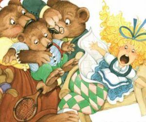 قصص اطفال قصيرة - قصة الفتاة والدببة الثلاثة