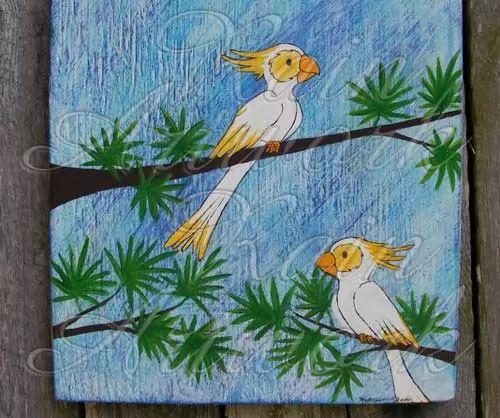 قصة الطيور والبحر