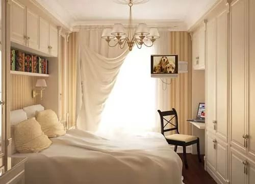 افكار ديكورات غرف نوم صغيرة المساحة   سحر الكون