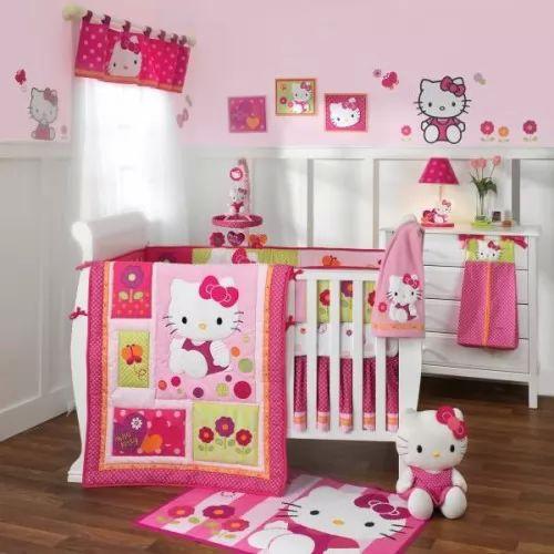 صور - اجعلي ديكور غرفة ابنتك مميزة مع غرف نوم كيتي