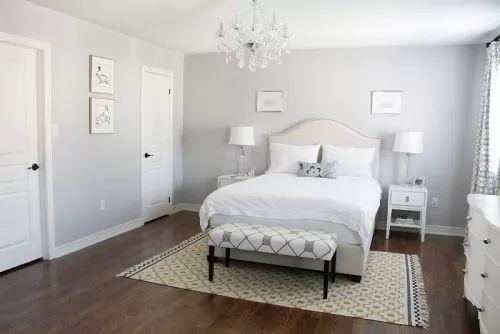 ديكورات غرف نوم بيضاء رائعة الجمال   سحر الكون