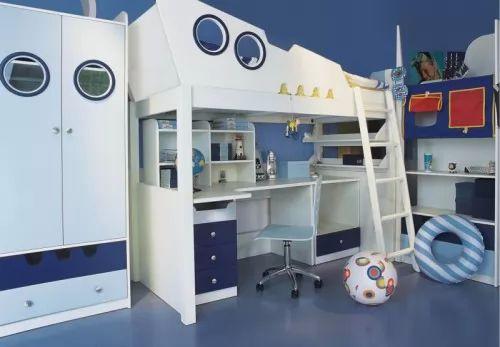 صور - ديكور غرف نوم اولاد مودرن بالوان مبهجة و جريئة
