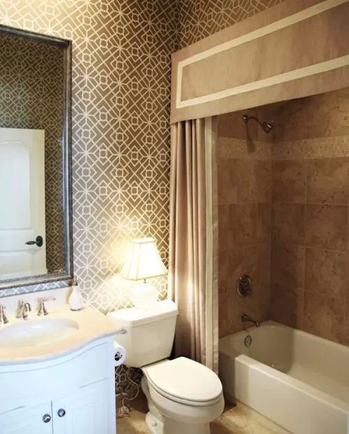 صور - ستائر حمامات جميلة لتجددي بها ديكور حمامك