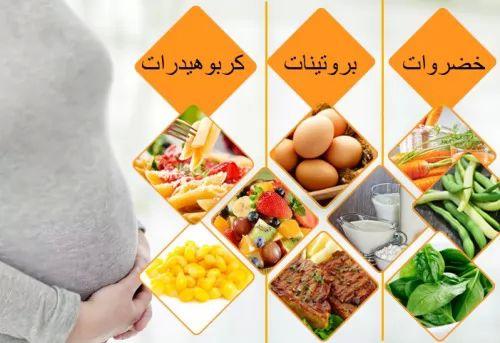 طريقة غذاء الحامل