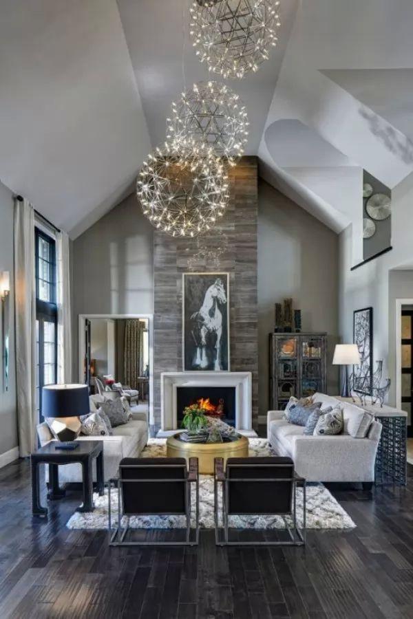 صور - تصاميم الاضاءة الحديثة فى المنازل العصرية