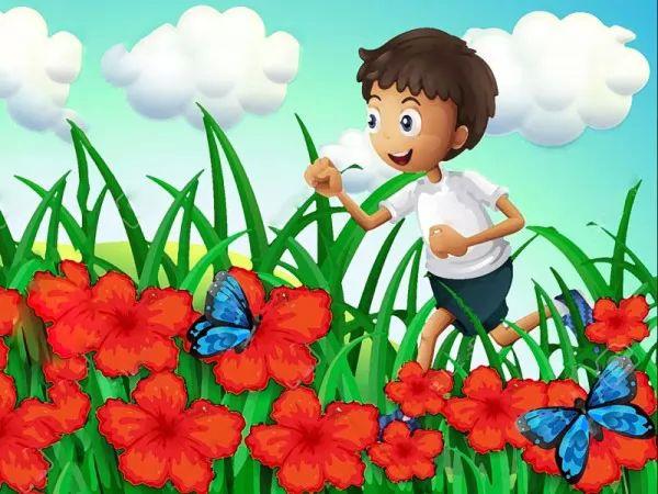 صور - قصص اطفال قصيرة - درس من الطبيعة