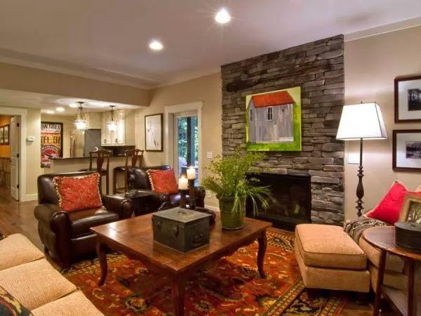 صور - كيف تجعلين من غرفة الجلوس غرفة ترفيهية ؟
