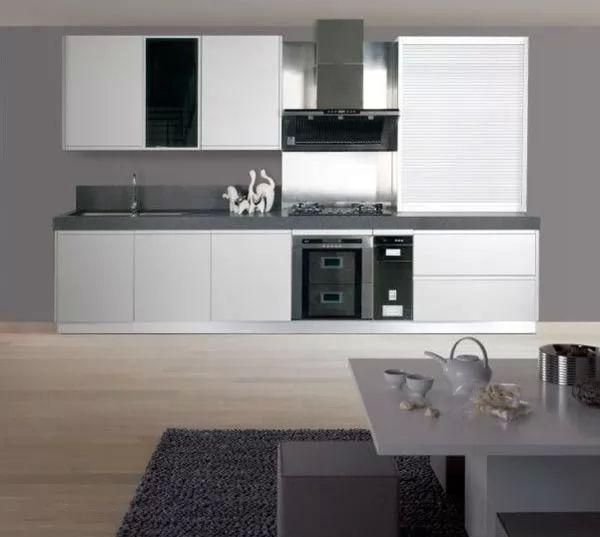 Modern Aluminium Kitchen Cabinet Design Malaysia: احدث ديكورات مطابخ المنيوم مودرن بالصور