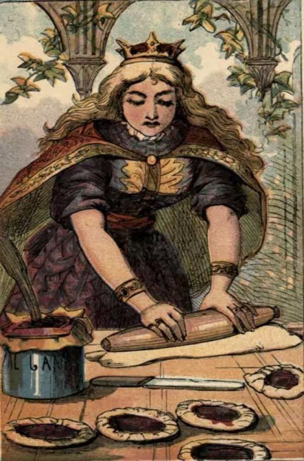 صور - قصة ملكة القلوب ولص الفطائر من قصص الاطفال القصيرة