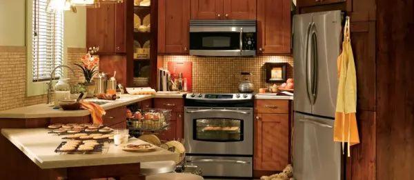 صور - افكار لتصاميم مطابخ صغيرة مودرن