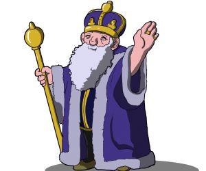 قصة الملك الكسول من قصص اطفال قبل النوم