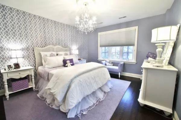 اجمل الوان غرف النوم التى تحبها النساء   سحر الكون
