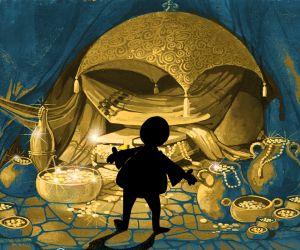 نقدم لكم اليوم من موقع سحر الكون قصة علي بابا والاربعين حرامي احدى اجمل قصص اطفال قبل النوم و التى تعلم الاطفال الكثير من الدورس عن الحياة