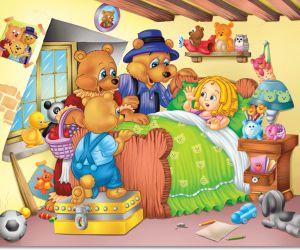 و موقع سحر الكون يقدم الكثير من  قصص قصيرة للطفال مثل قصتنا اليوم قصة الدببة الثلاثة و الفتاة الصغيرة احد اجمل و امتع قصص قصيرة للطفال