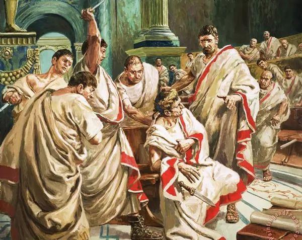 يوليوس قيصر صاحب عبارة  - حتى انت يا بروتس