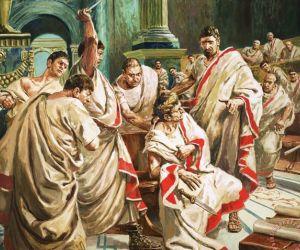 يوليوس قيصر هو الجنرال والدكتاتور الروماني ولد في يوليو عام 100 قبل الميلاد في روما وتوفى في عام 44 قبل الميلاد على يد بروتس ، وقد قال يوليوس قيصر ...