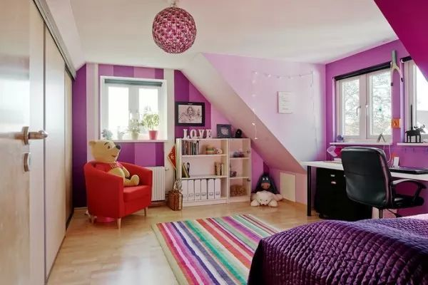 صور - تصاميم غرف نوم الاطفال المودرن بالوان جذابة