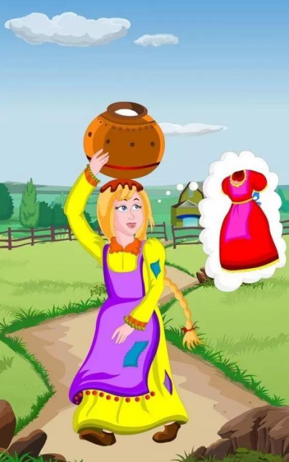 قصة المزارعة الصغيرة واللبن من قصص الاطفال الجميلة