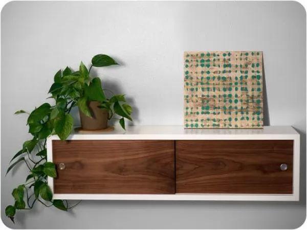 صور - 10 تصميمات انيقة من خزائن الحائط تحل ازمة المساحات الصغيرة