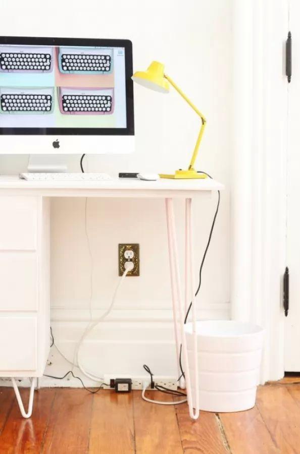 يمكنك اخفاء الاسلاك الكهربائية بمنزلك