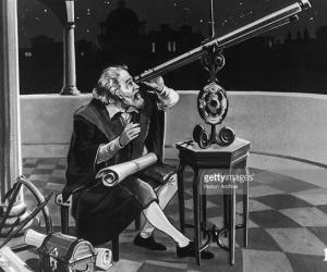 العالم الايطالي جاليليو جاليلي هو باحث الملاحظات الرائدة التي ارست الاساس للفيزياء الحديثة وعلم الفلك وهو اول من اخترع التلسكوب