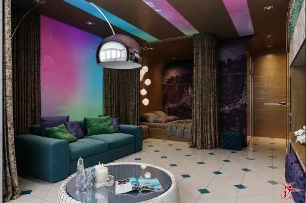 اكتشفى طرق تجعل مساحة شقة استديو تبدو اكبر