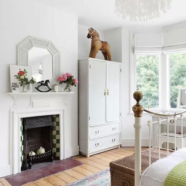 صور - 13 من اروع افكار غرف النوم البيضاء بالصور