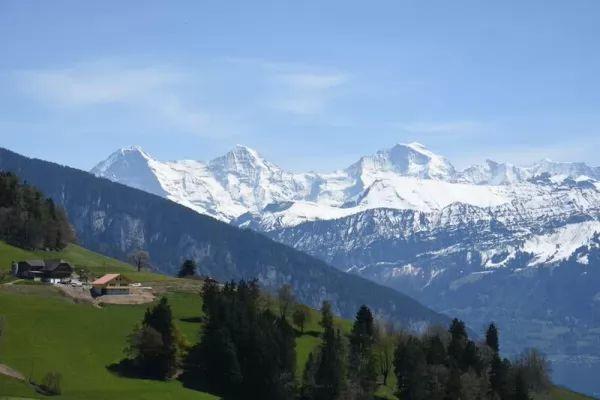 جبال الألب من اجمل جبال العالم