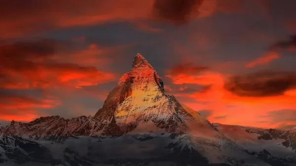 جبل ماترهورن من اجمل جبال العالم