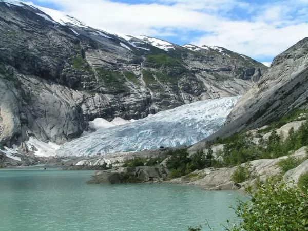 اشهر الانهار الجليدية العالم بالصور
