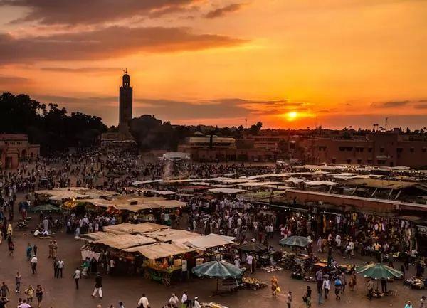 مراكش من اشهر الاماكن السياحية في المغرب