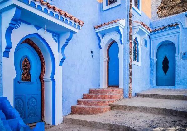 شفشاون من اشهر الاماكن السياحية في المغرب